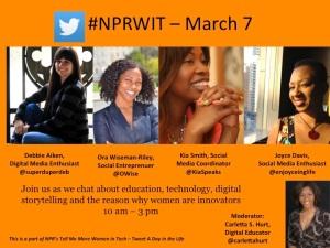 NPR WIT poster